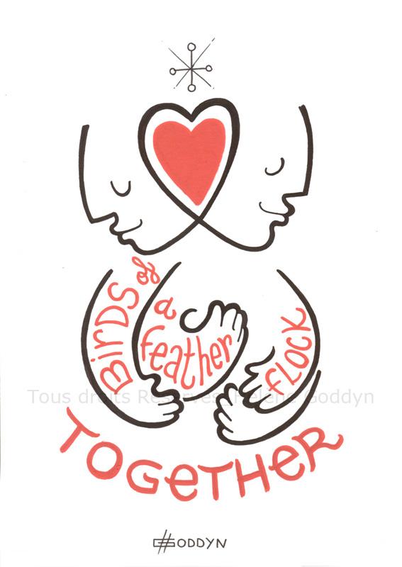 Au-fil-de-la-vie-pour-en-tracer-l-essentiel_Together_Helene-Goddyn_dessin-fil