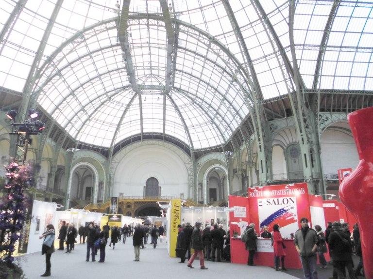 salon des artistes francais_art-en-capital_grand-palais_france_champs-elysées_helene-goddyn_wonderful-art_entrée-salon-2014