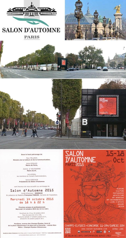 2015 reportage salon d automne paris champs elys es for Salon aux champs