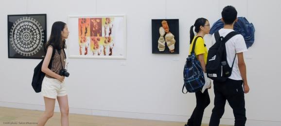Goddyn-Helene_Mandala-Humain-VOYAGE_Musee-National-Art-Center_Tokyo_Japon3